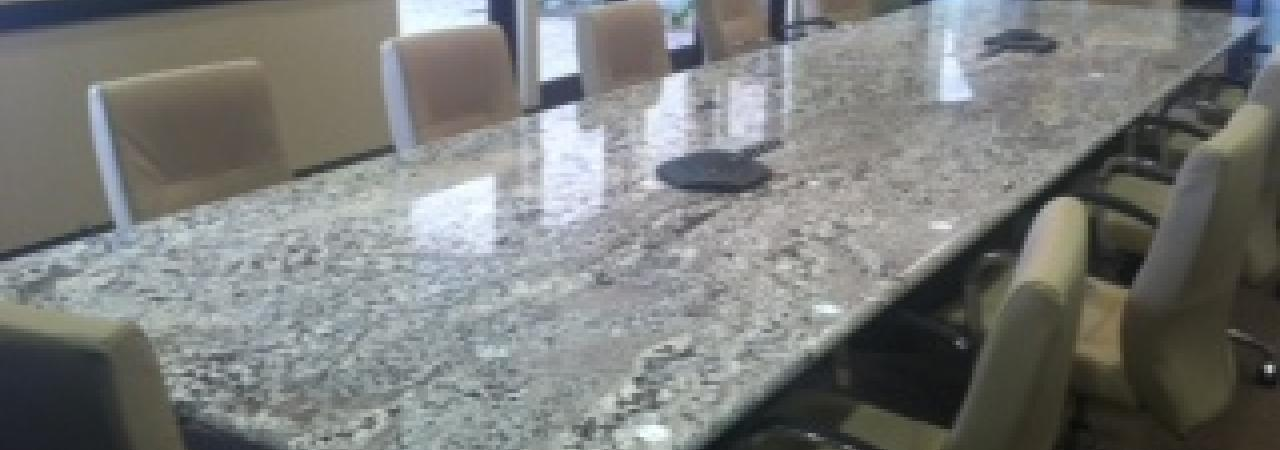 Request Manufacturing. Granite Conference Room Table